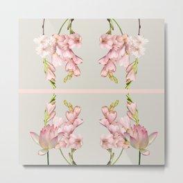 Pink Aura Design Metal Print