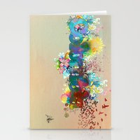 colombia Stationery Cards featuring Colombia by LinaG