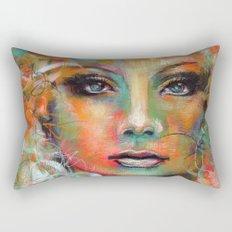 Little Colorgirl... Rectangular Pillow
