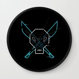 Cyber Pirate Wall Clock