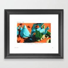 POP HELL #6 Framed Art Print