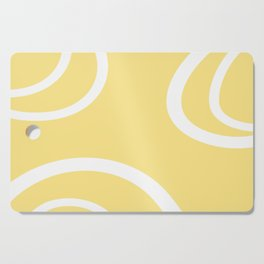 HELLO YELLOW - GRAPHIC 1 by MS Cutting Board