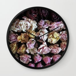 Rose Love 3 Wall Clock