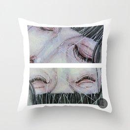 eyes detail Throw Pillow