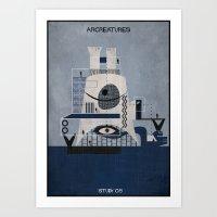 05_ARCREATURES-01 Art Print