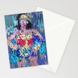 Superhero Type Art Comics Woman Stationery Cards