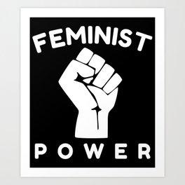 Feminist Power Art Print