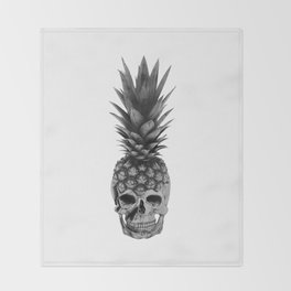 Pineapple Punk Throw Blanket