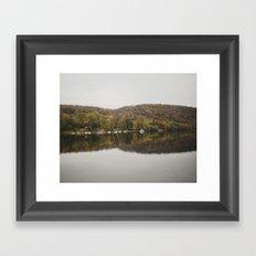 Autumn in New Hope Framed Art Print