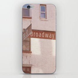 Spring Street and Broadway iPhone Skin