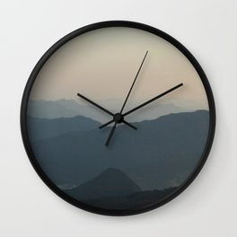 Pastel Nikko Wall Clock