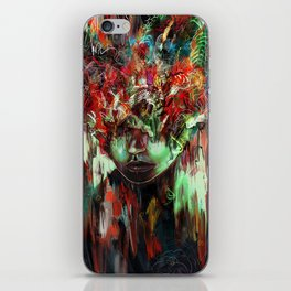 Chaotic Mind iPhone Skin