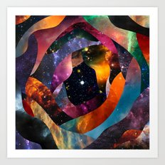 Star Gazer Art Print