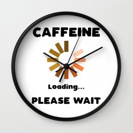 Have A Cup Of STFU Sarcasm Sarcastic Coffee Lovers Gift Wall Clock