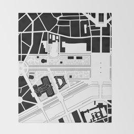 Champs Elysées. Paris Throw Blanket