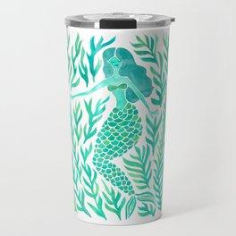 Kelp Forest Mermaid – Mint Palette Travel Mug