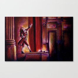 Curtain Call Canvas Print