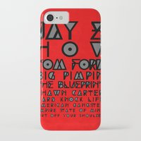 jay z iPhone & iPod Cases featuring Eye Test - JAY Z by Studio Samantha