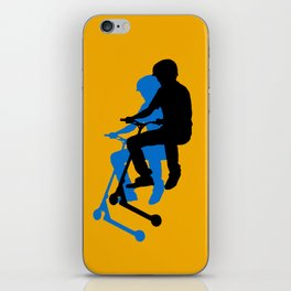 Landing Gears - Stunt Scooter Rider iPhone Skin