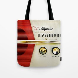 My Grand Father Classic Old vintage Radio Tote Bag