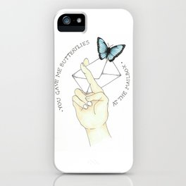 You Had Me At Hello //ADTR iPhone Case