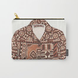 Tapa Shirt Carry-All Pouch