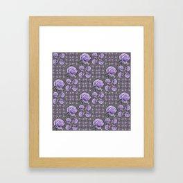 Lavender Roses Framed Art Print