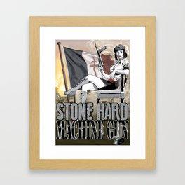 Stone Hard Partisan Framed Art Print