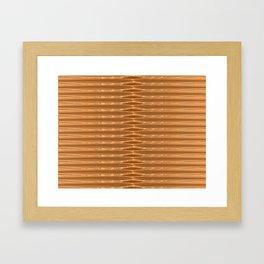 Golder Framed Art Print
