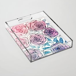 Ode to Summer Acrylic Tray