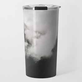 Misty Doubtful Sound Travel Mug