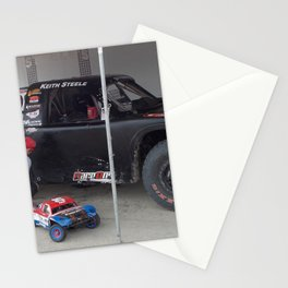Daddy...Can we try out the Track? Stationery Cards