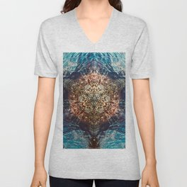 A Point For Reflection No 1 Unisex V-Neck