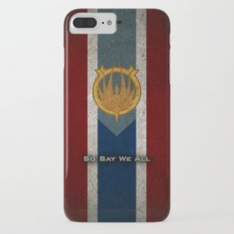 The Banner of Caprica - So Say We All iPhone Case