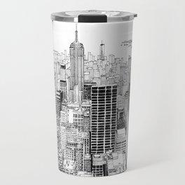 Above the City Travel Mug