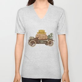 Intelligent Car Unisex V-Neck