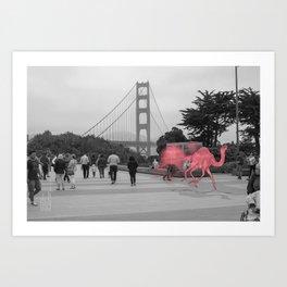 Unseen Monsters of San Francisco - Lil Waterayloo Art Print