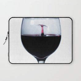 A Splash of Red Wine Laptop Sleeve
