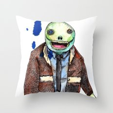 I will eat all of the ants for you Throw Pillow