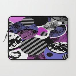 an-ARC-hy! (Abstract, geometric, sphere, circle, pop art, chaotic, eclectic, random artwork) Laptop Sleeve