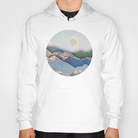 inception Hoodies featuring Rolling Mountains by AmandaRoyale