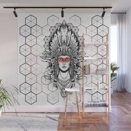 Geometric Indian Wall Mural