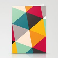 triangles Stationery Cards featuring Triangles by Gary Andrew Clarke
