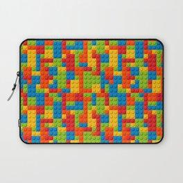 Bricks geometric pattern Laptop Sleeve