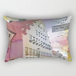 Townhall of Neumarkt Rectangular Pillow