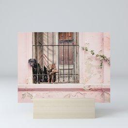 Pup Prison - Art Print Mini Art Print