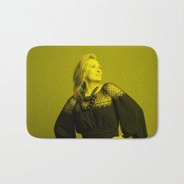 Meryl Streep - Celebrity (Florescent Color Technique) Bath Mat