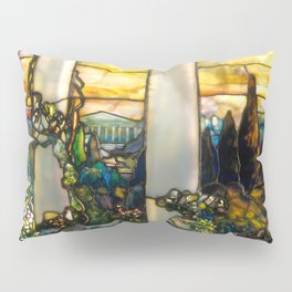 "Louis Comfort Tiffany ""Howell Hinds House Window"" Pillow Sham"