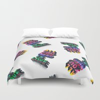 all you need is love Duvet Covers featuring ALL YOU NEED IS LOVE by Pierrick G. Baur