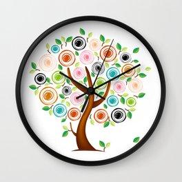 Tree #02 Wall Clock